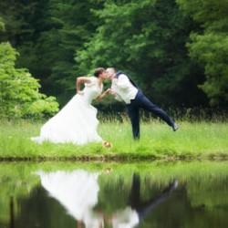 Brautpaarshooting, Grünefelder Park Waldenburg am Bäderhaus