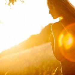 Abendsonne, Lichtenstein, Model, Outdoor, im freien, Fotos Sonne, frei, Wiese