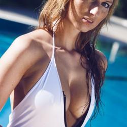 Sonne, Sonnenuntergang, sexy bikini, Pool, Sonne, Sonnensprossen, Blue Water,