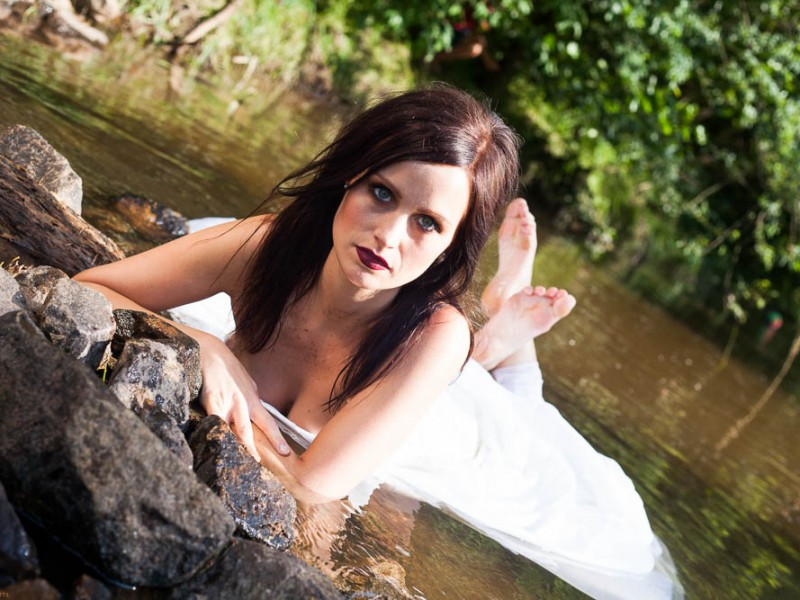 Wasser, Kalt, Trash the dress, Hochzeit, over and out