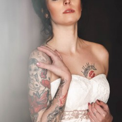 Kitty Kaley, Tattoo, Model