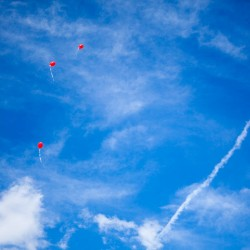 Luftballons über Reinholdshain