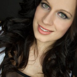 Therese Scheibner, Model, Ringlicht