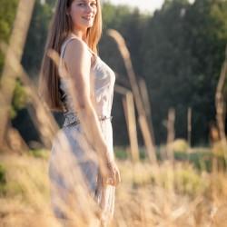Sabine in den Feldern in Limbach Oberfrohna