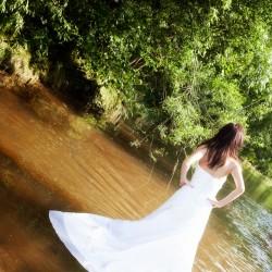 Farbe, Schlamm, Zerschneiden, Hochzeitskleid, Scheidung, Ende