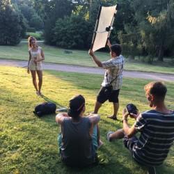 Sunbounce, Sunbouncer, Aufhellung, Foto, Bilder